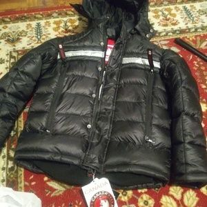 Canada weather gear coat